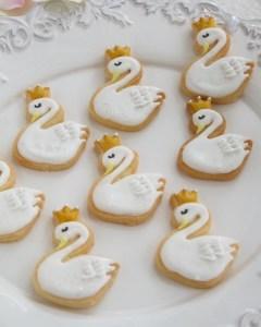 白鳥の湖アイシングクッキー, swanlake, アイシングクッキー, バレエアイシングクッキー, バレエ発表会ギフト, 白鳥