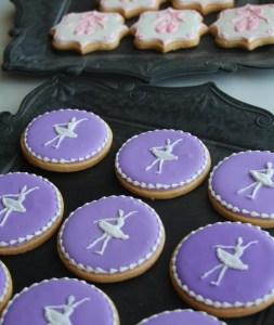 バレエアイシングクッキー, オーダーメイドクッキー, アイシングクッキーオーダー, バレエ発表会