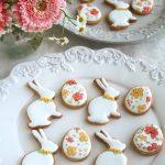 イースターアイシングクッキー, リバティアイシングクッキー, ホワイトデーギフト