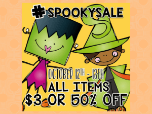 #spookysale Coming !