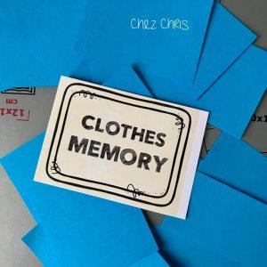 Conception du jeu de memory