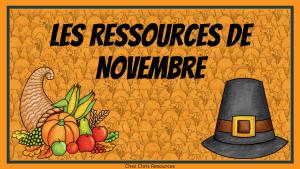 Les ressources de Novembre