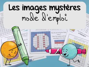 Les images mystères, mode d'emploi
