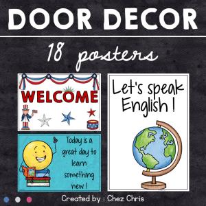 Posters on your door