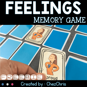 Feelings – Memory Game