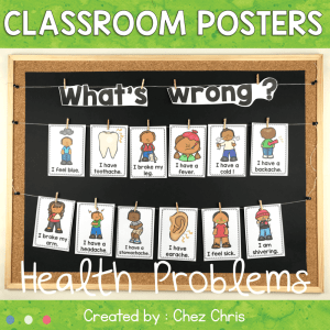 Health Problems Posters