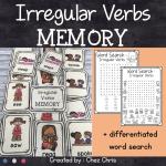 Irregular Verbs – Memory Game