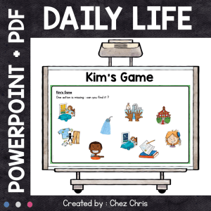 Kim's Game – Daily Life