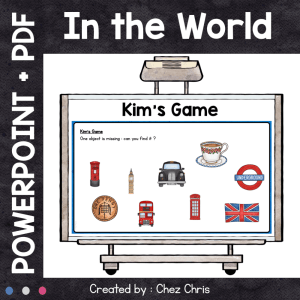 Kim's Game – In the World