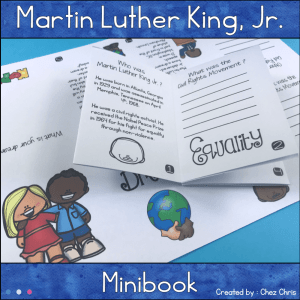 Martin Luther King Jr. Minibook