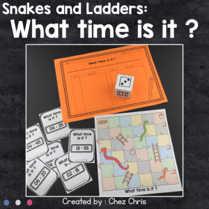 Telling Time – Snakes and Ladders