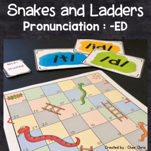 Sounds of -ED – Snakes and Ladders