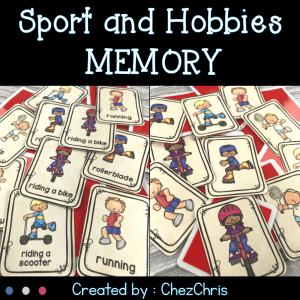 Sport and Hobbies Memory