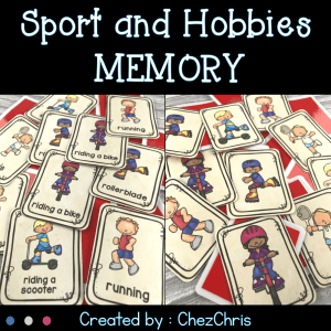 Sport and Hobbies Memory