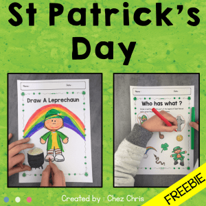 Draw a Leprechaun – FREEBIE