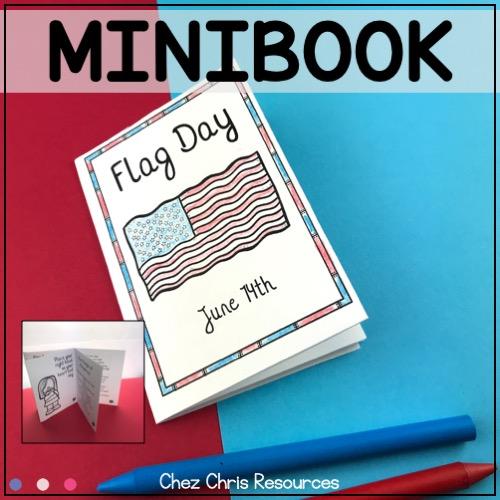 """couverture du mini livre """"Flag Day"""" : le drapeau américain, l'hymne national et le serment d'allégeance"""