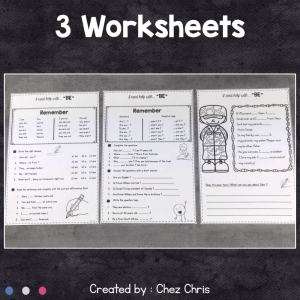 BE : Worksheets and Clip Cards