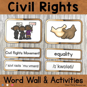 January : Civil Rights