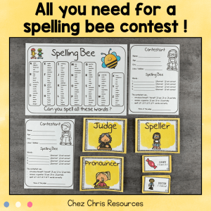 Spelling Bee Bundle