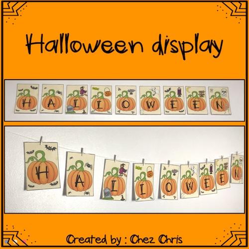 vignette de la ressource d'activité Halloween en anglais