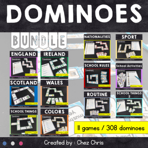 Dominoes – BUNDLE 1