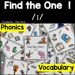 Find the one – The sound /i/