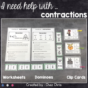 I ned help with … Contractions
