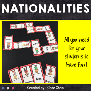 Dominoes Nationalities