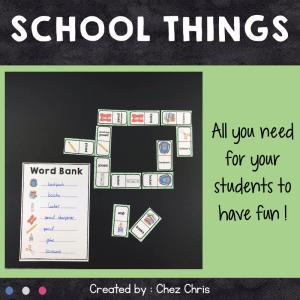 Dominoes School Things – 1