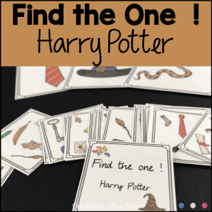 Harry Potter – Find the one game