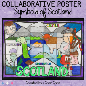 Symbols of Scotland – A Collaborative Poster