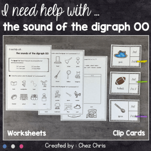 I need help with … The Sounds of the Digraph oo
