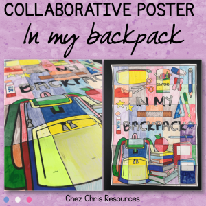 In my Backpack – A Collaborative Poster