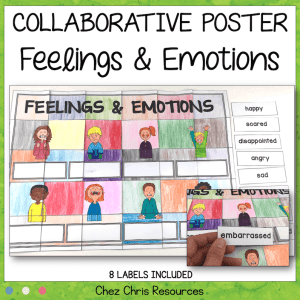 Feelings and Emotions Vocabulary – A Collaborative Poster