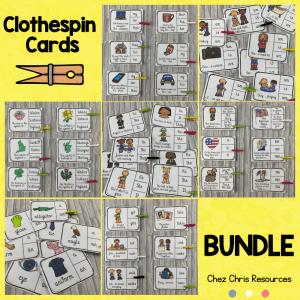 couverture du bundle de clothespin cards
