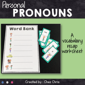 Dominoes : Personal Pronouns