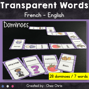 Dominoes : Transparent Words