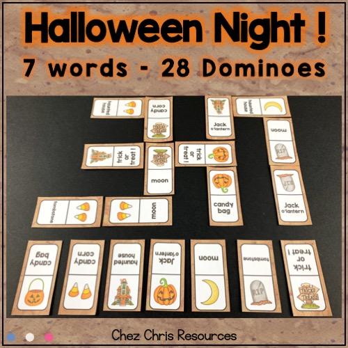 image liée à la ressource des dominos sur la nuit d'halloween (vignette 1)