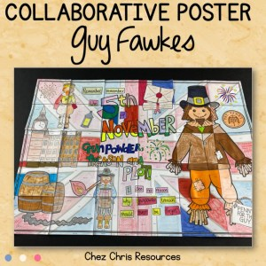 Guy Fawkes – A Collaborative Poster