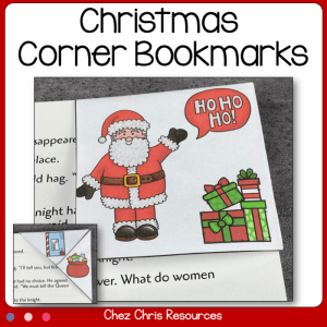 Christmas Corner Bookmarks
