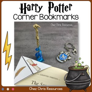 Harry Potter Corner Bookmarks