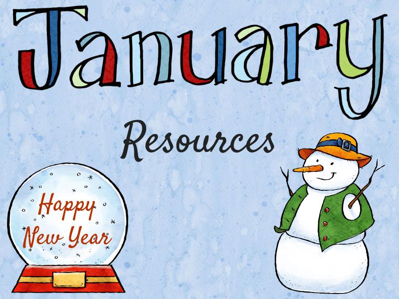 Les Ressources du mois de janvier