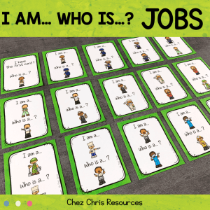 I am a … who is a … ? Jobs and Professions
