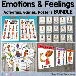 Emotions and Feelings Bundle