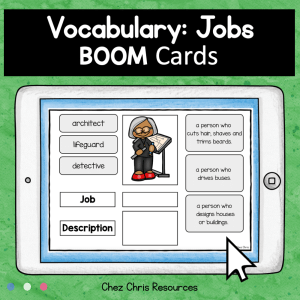 BOOM Cards : Jobs Matching Game