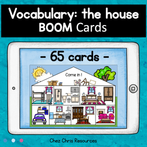 BOOM Cards : House Vocabulary