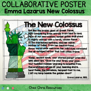 The New Colossus – A Collaborative Poster