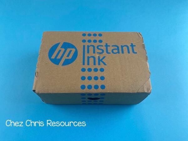 Emballage carton InstantInk