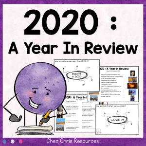 2020 – A Year In Review Activities