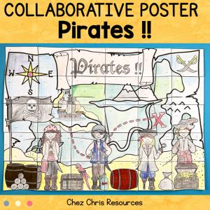 Pirates – A Collaborative poster